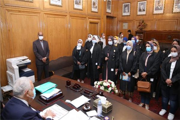 جلسة حلف اليمين القانونية لـ 8 نقابات فرعية