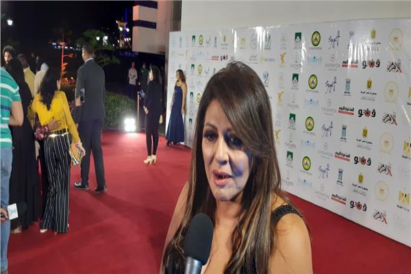 صور| هالة صدقي تصل حفل افتتاح مهرجان الإسكندرية السينمائي