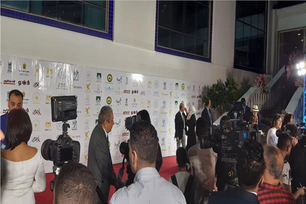 نجوم الفن يشاركون في حفل افتتاح مهرجان الإسكندرية السينمائي الـ37