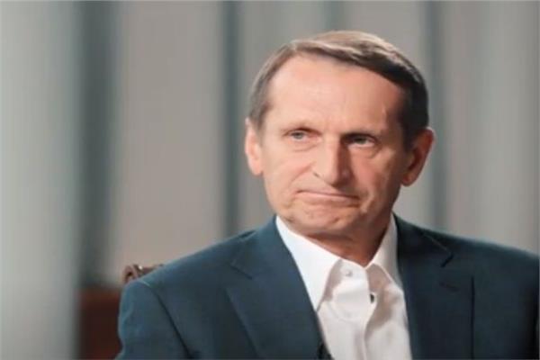 مدير الاستخبارات الروسية سيرجي ناريشكين