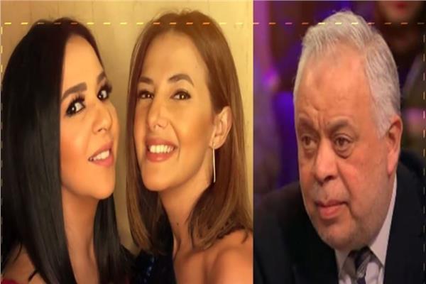 أشرف زكي ودنيا وإيمي سمير غانم