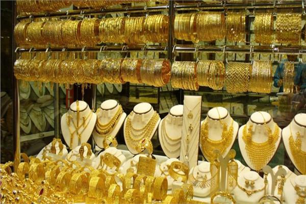 معروضات من الذهب