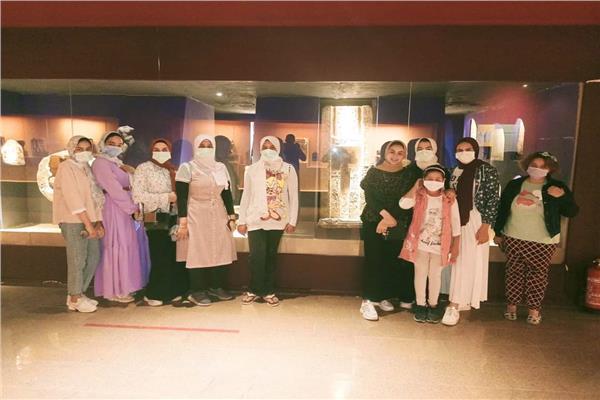 متحف الغردقة يستقبل أفواج طلائع الجمهورية من القاهرة والغربية | صور
