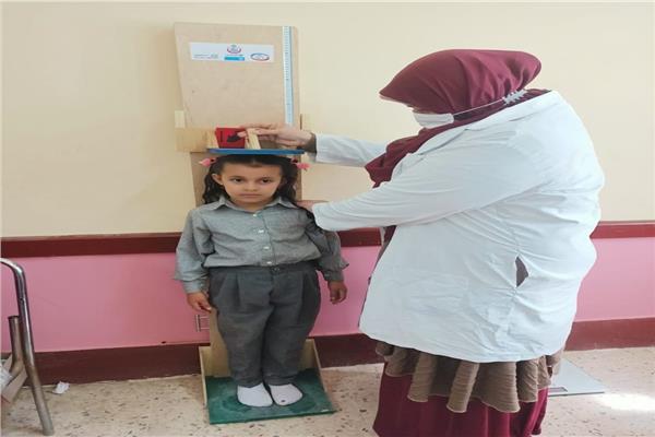 فحص 150 ألف طالب بالشرقية ضمن مبادرة علاج أمراض سوء التغذية