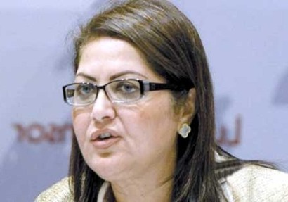 الدكتورة هالة السعيد وزيرة التخطيط والمتابعة والاصلاح الاداري