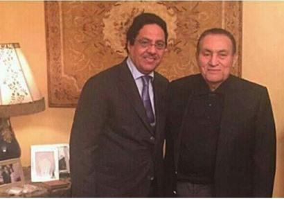 محمد حسني مبارك  و مبارك الخرينج