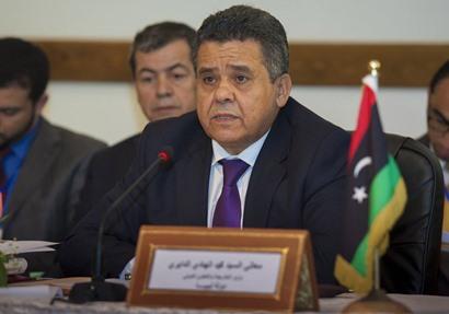 وزير الخارجية بالحكومة الليبية الموقتة