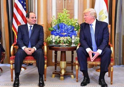 زياره ترامب للقاهره  لم يتم تحديد موعدها بعد