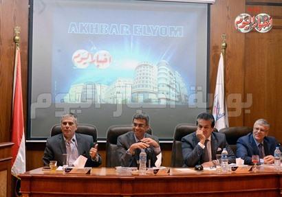 الكاتب الصحفى ياسر رزق رئيس مجلس إدارة أخبار اليوم