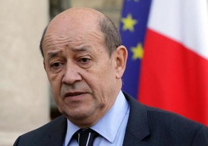 وزير الخارجية الفرنسي جون ايف لودريان