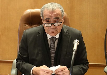 وزير التموين والتجارة الداخلية  على مصيلحي