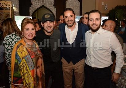 صورة من حفل سحور المنتج صادق صبّاح