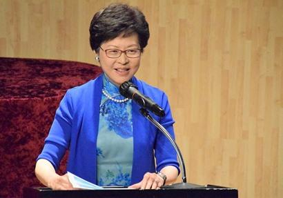 رئيسة هونج كونج الجديدة كاري لام