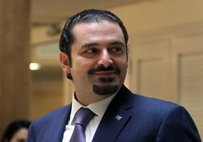 رئيس مجلس الوزراء اللبنانى سعد الحريري