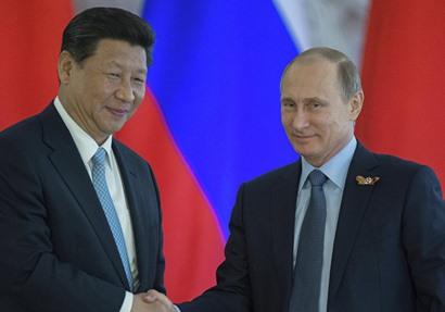 الرئيسان الروسي والصيني