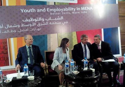 فعاليات مؤتمر الشباب والتوظيف في الشرق الأوسط