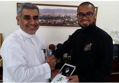 """محمد سلام مدير قناة إقرأ مع رئيس قناة """"أسترو"""" الماليزية"""