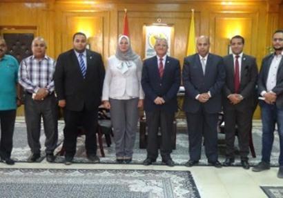 جامعة المنيا خالية من فيرس سي