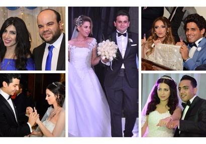 حفلات زفاف نجوم مسرح مصر