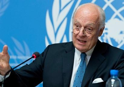 المبعوث الأممي لدي سوريا ستيفان دي ميستورا