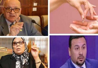 عبد المنعم العليمي وآمنة نصير وأحمد مهران