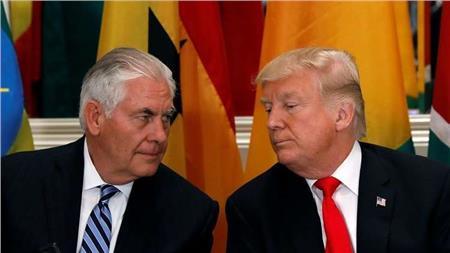 مصادر: خلافات حول كوريا الشمالية وراء قرار ترامب الإطاحة بتيلرسون
