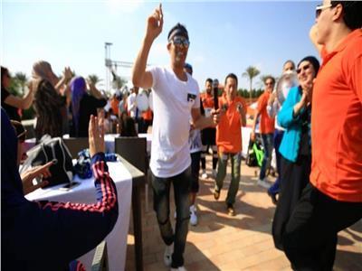 صور| سعد الصغير يحيي حفل شم النسيم على الصحراوي