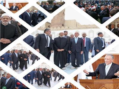 5 ساعات للرئيس البرتغالي في ضيافة شيخ الأزهر| مصر عظيمة