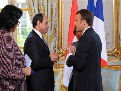 الرئيس الفرنسي لـ«السيسي»: ضرب سوريا تم وفقًا للشرعية الدولية