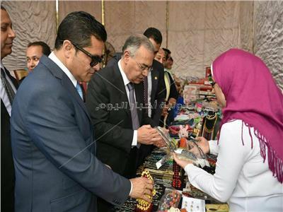حزب «المصريين الأحرار»  يكرم 79 قيادة تنفيذية و عمالية بالمنوفية ويفتتح معرضا للمشغولات اليدوية