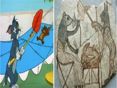 حكايات| توم وجيري.. كارتون فرعوني سبق «ديزني» بآلاف السنين