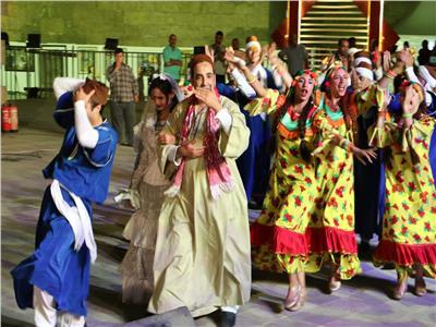 حضور جماهيري كبير بسور القاهرة الفاطمية