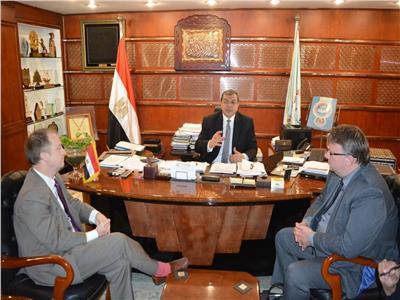تفاصيل لقاء وزير القوى العاملة و مدير«العمل الدولية»