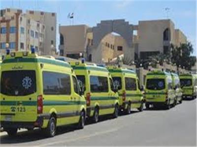 75 سيارة إسعافوتأمين الطرق الصحراوية استعدادًا للعيد بسوهاج