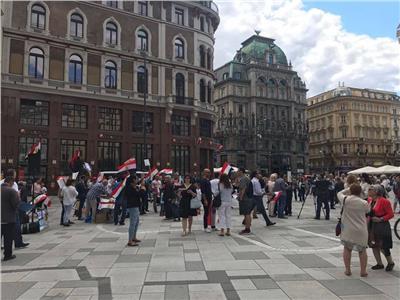 المصريون بفيينا يحتفلون بذكرى ثورة ٣٠ يونيو