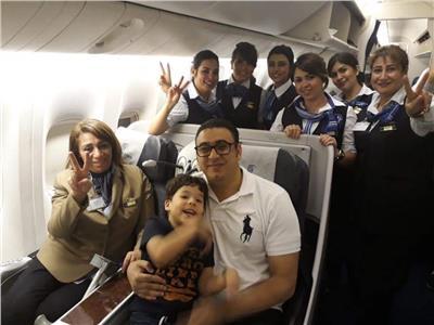 عودة الرائد محمود الكومي بعد رحلة علاج في لندن