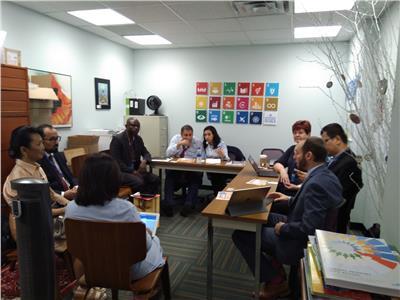 اجتماع تنسيقي بين قادة المجموعات العالمية المنبثقة عن منتدى التنمية المستدامة