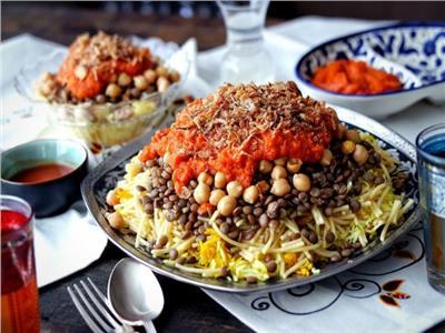 حكايات  أبو «دقة» جنان.. «الكشري» أكلة ليست مصرية