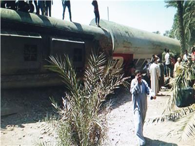 «السكة الحديد»: التحقيقات مستمرة في حادث «قطار البدرشين»