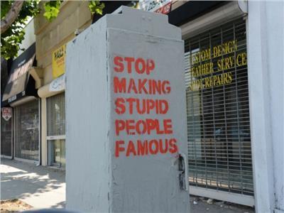 إبداعات القراء| لا تجعلوا من الحمقى مشاهير