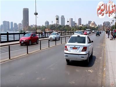 فيديو  سيولة مرورية بشوارع القاهرة يوم وقفة عرفات