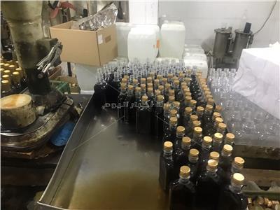 ضبط 13 ألف زجاجة خمور تسبب العمي في بدر