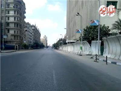 فيديو| هدوء تام وسيولة مرورية بشوارع القاهرة ثانى أيام عيد الأضحى
