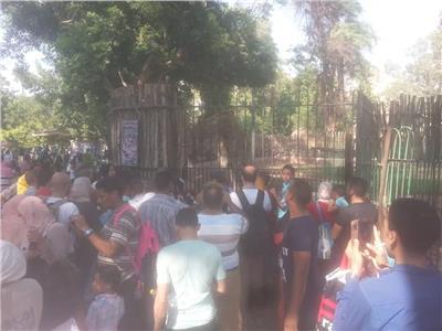 بالصور.. 55 الف زائر لحديقة الحيوان في ثالث أيام عيد الأضحى