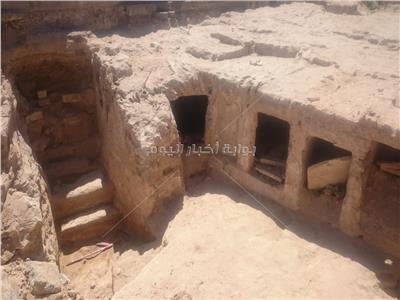 «الآثار»: اكتشاف جزء من الجبانة الغربية للإسكندرية في العصر البطلمي