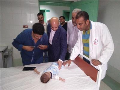 وزيرة الصحة تتدخل في قضية الطفل «ضحية عضة أمه»
