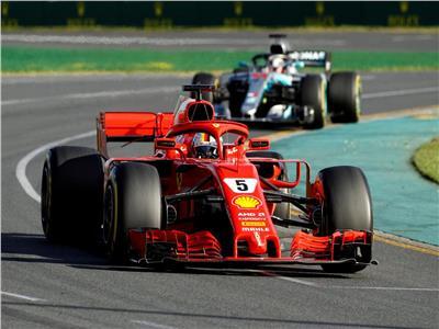 فيتل الأسرع في التجارب الأخيرة في سباق «فورمولا 1»