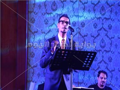صور| رابح صقر يتألق في حفل الجالية العربية
