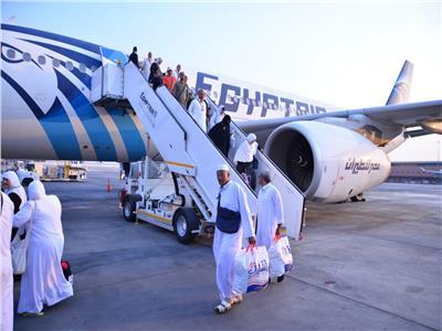 غدًا.. مصر للطيران تختتم جسرها الجوي لإعادة حجاج دولة فلسطين