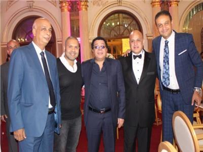 صور| أحمد أدم في حفل زفاف «هادي ونانسي»